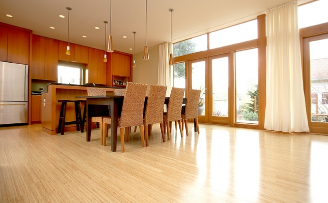 Sustainable in style bamboo flooring area floors for Bamboo flooring portland